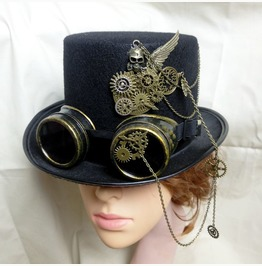 Steampunk Party Top Hat Cosplay Accessory