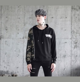 New Autumn Fashion Camouflage Casual Hoodies