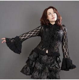 Black Widow Lace Shirt