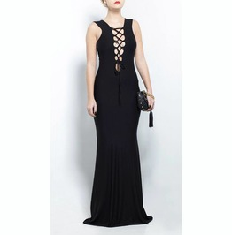 Black Gown Dress, Elegant Dress, Bodycon Dress, Sexy Long Gown, Party Dress
