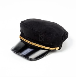 Gold Twisted Strap Marine Cap 26
