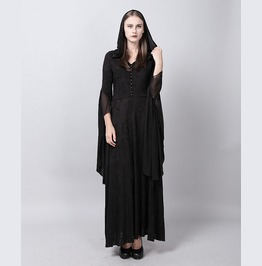 New Halloween Party Dress Witch Cosplay Costume Dresses