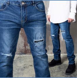 Scratch Accent Basic Slim Jeans 308