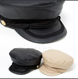 Rope Strap Leather Marine Cap 27