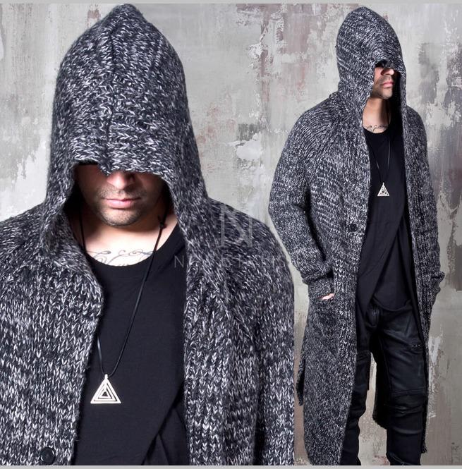 rebelsmarket_avant_garde_charcoal_knit_long_hood_cardigan_112_hoodies_and_sweatshirts_15.jpg