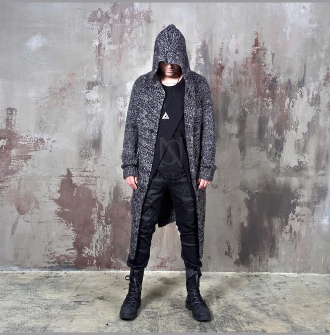 rebelsmarket_avant_garde_charcoal_knit_long_hood_cardigan_112_hoodies_and_sweatshirts_14.jpg