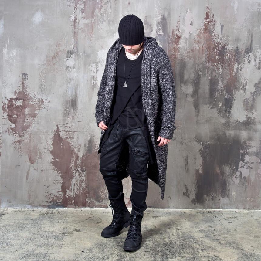rebelsmarket_avant_garde_charcoal_knit_long_hood_cardigan_112_hoodies_and_sweatshirts_12.jpg