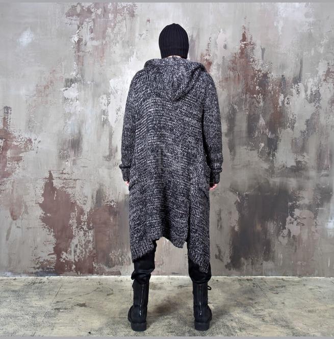 rebelsmarket_avant_garde_charcoal_knit_long_hood_cardigan_112_hoodies_and_sweatshirts_6.jpg