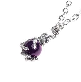 Violet's Clutch Pendant Necklace