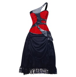 Drops Of Passion Corset Dress