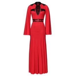 Dragon Flame Gothic Dress