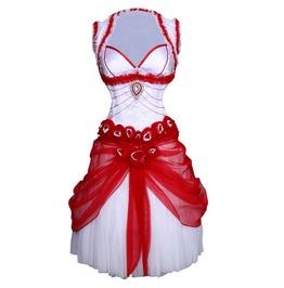 Starfire Burlesque Corset Dress