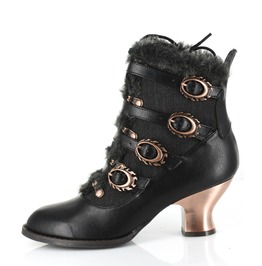 Airship Ankle Boots Midnight