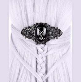 House Of Lucifer Hair Clip