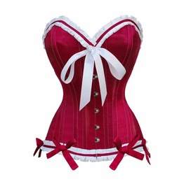 Absolute Cherry Pop Red White Corset
