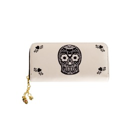 Winter Skull Wallet