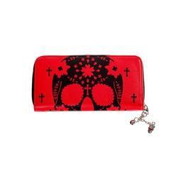 Scarlet Skull Wallet