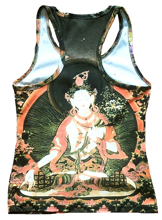 white_tara_buddha_tipet_nepal_tattoo_tank_top_shirt_m_tops_2.jpg