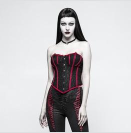 Black And Red Vampirella Corset