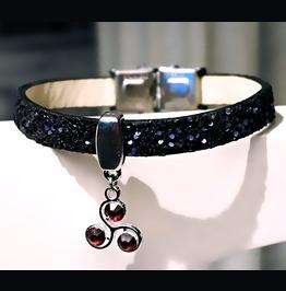 Rebelsmarket submissive dominant jewelry bracelet steampunk bdsm symbol triskele cuff bracelets 5