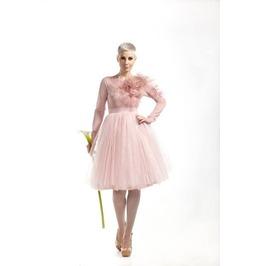 Blush Wedding Dress, Pink Tulle Dress, Tutu Dress Adult, Pink Gown
