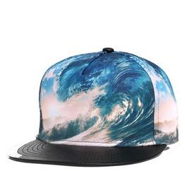 Men Vortex Snapback Caps,Women Casual Flat Hat, Adjustable Baseball Caps