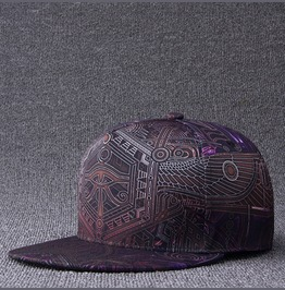 Special Totem Cap,Snapback Flat Hat, Adjustable Hip Hop Men Baseball Caps