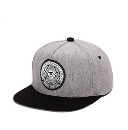Men Hip Hop Caps,God Eye Snapback Flat Hat, Adjustable Women Caps Baseball
