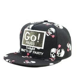 Go Pairs Charm Caps,Ladies Casual Flat Sun Hat, Adjustable Caps Baseball