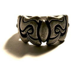 Awesome Tribal Design Metal Ring Us Size 8.5