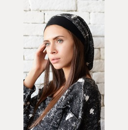 Extravagant Urban Style Hat/Slouchy Beanie/Draped Loose Hat/Casual Hat