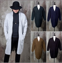 Soft Knit Open Long Cardigan 106