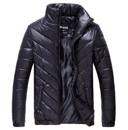 Thick Cotton Quilted Wadded Winter Jacket Men Coat