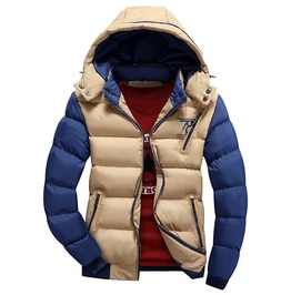 Thick Hooded Thermal Winter Coats Jacket Men