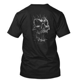 Screaming Skull T Shirt