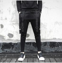 New Black Skinny Harem Pants Fashion Streetwear