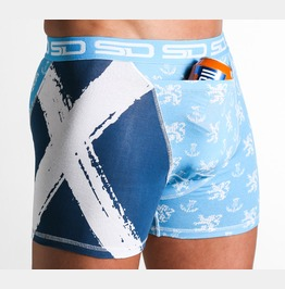 Scotland Smuggling Duds Boxer Shorts, Boxer Briefs
