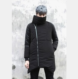 New Winter Warm Jacket Zipper Overcoats