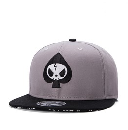 Ace Caps,Unisex Casual Adjustable Flat Hat,Hip Hop Sports Skateboard Cap