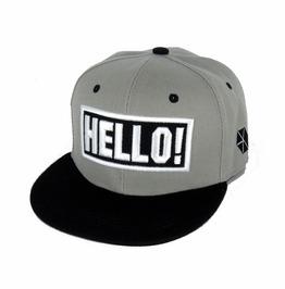 Say Hello!,Men Women Street Style Casual Adjustable Flat Hat,Sports Caps