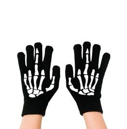 Up Yours Skeleton Hand Middle Finger Gloves