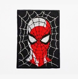 Spider Man Embroidered Iron On Patch.