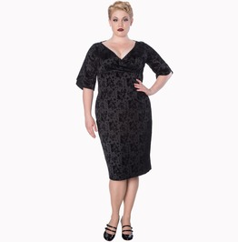 Banned Apparel Sia Bella Pencil Plus Size Dress