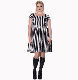 Banned Apparel Heart To Heart Mini Plus Size Dress