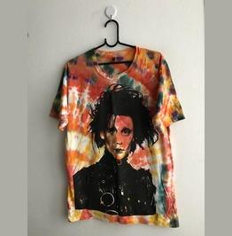 Johnny Depp Glam Pop Special Tie Dye Fashion T Shirt L