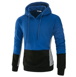Men's Mutiple Colors Contrast Cotton Hoodies