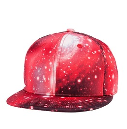 Unisex's 3 D Galaxy Starry Sky Printed Hiphop Hats Baseball Cap