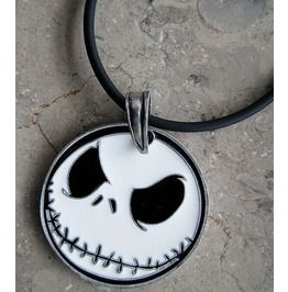 Nightmare Before Christmas Jack Skull Helloween Pendant Necklace