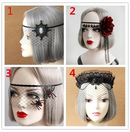 Handmade Gothic Masquerade Party Mask