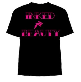 Tattooed Beauty Shirt, Inked Tshirt, Inked Beauty Shirt, Women Tattoo Shirt